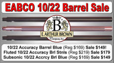 Ruger 10/22 Barrel Sale