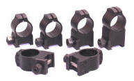 Warne Maxima Tactical Rings Black