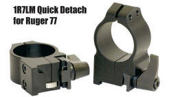 Ruger Quick Detach Rings by Warne