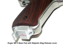 Ruger Mark II and III Magazine Base Pads