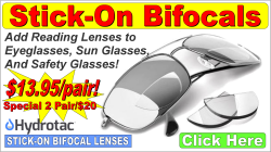 Stick-On Bifocals