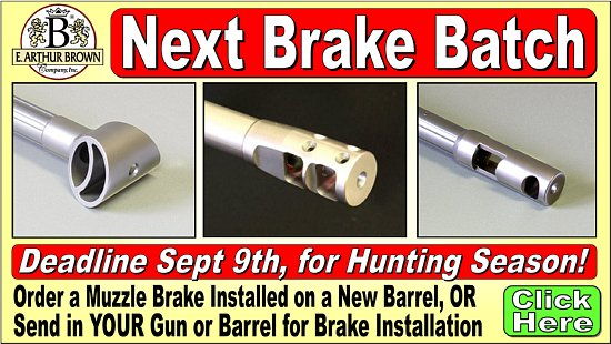 Muzzle Brakes at E. Arthur Brown Company