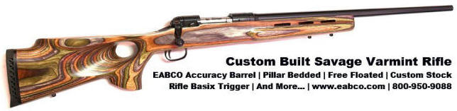 Custom Savage Rifle by E. Arthur Brown Company