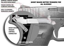 Glock Ghost Rocket Trigger Side View