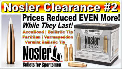 Nosler Clearance Sale