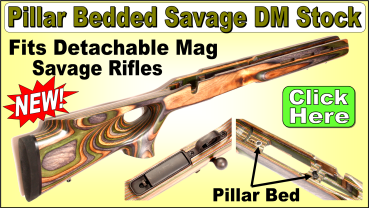 Savage Rifle Gun Stocks from EABCO - Replacement Stocks for Savage