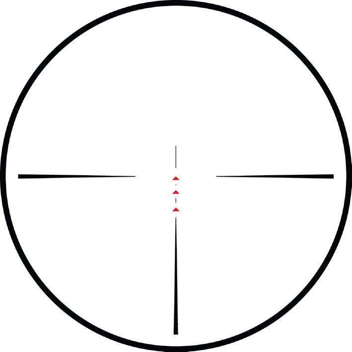 Hawke Slug Gun Scope Reticle