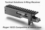 Dual Spring Ruger 10/22 Receiver by Tactical Solutions